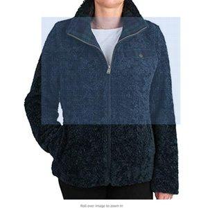 NWT Pendleton Ladies' Fuzzy Zip Jacket
